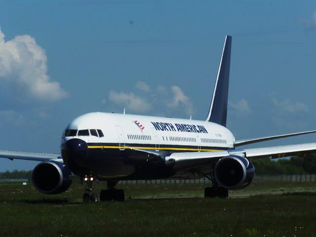 Avion de ligne Boeing 767 - North American.