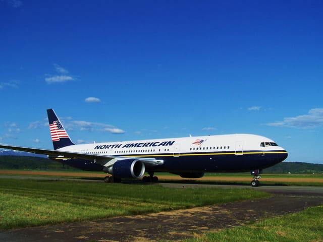 Avion de ligne Boeing 767 - North American