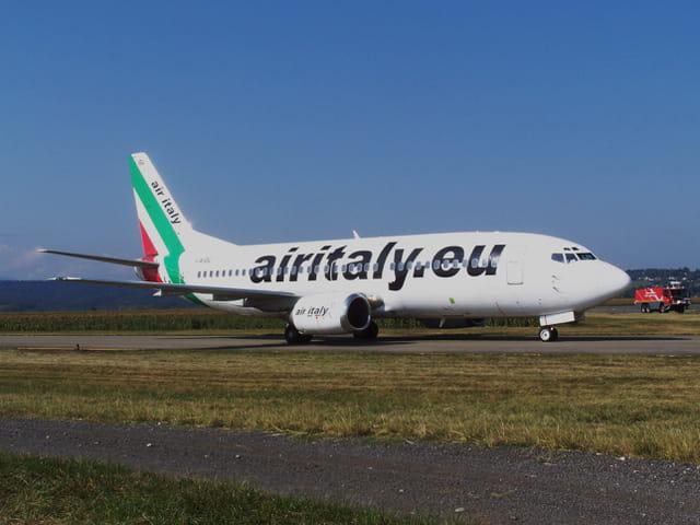 Avion de ligne - Cie Airitaly - Boeing 737.