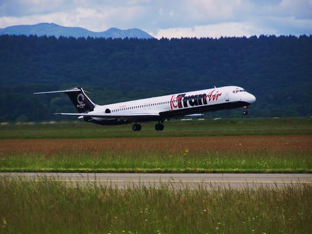 Avion de ligne MD 82 - Jetran Air