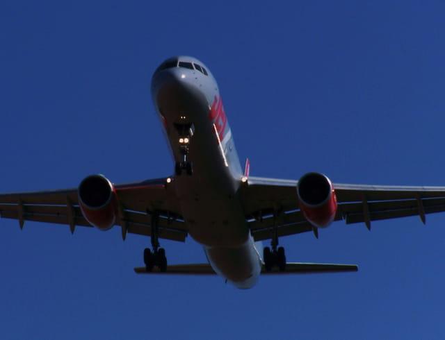 Avion de ligne - Oh!! le bel oiseau.