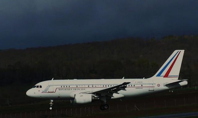 Avion de ligne - République Francaise - Président de la République.