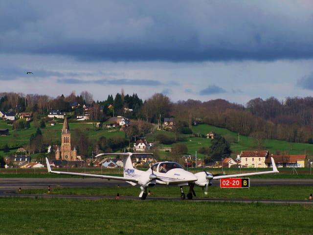 Avion de tourisme.