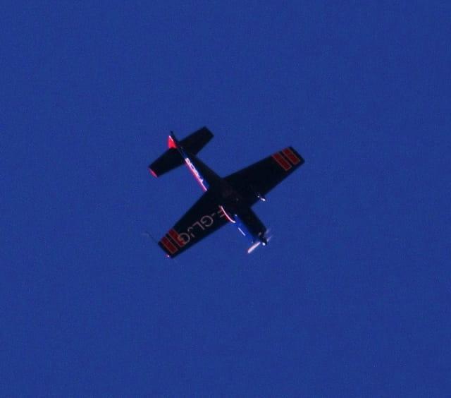 Avion de voltige Extra 200.