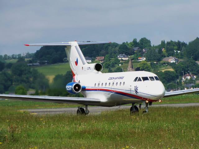 Avion JAK 40 - Czech Air Force
