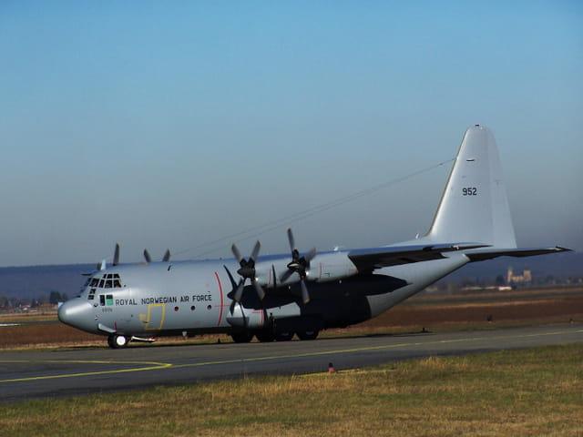 Avion militaire Hercules C130 - Royal Norwegian Air Force