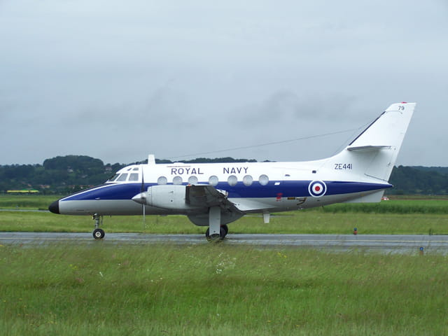 Avion militaire - Royal Navy.
