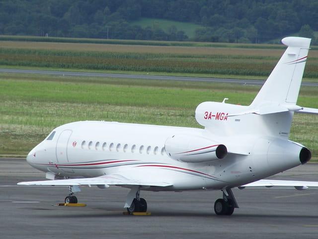 Avion personnel de Monseigneur Albert de Monaco.