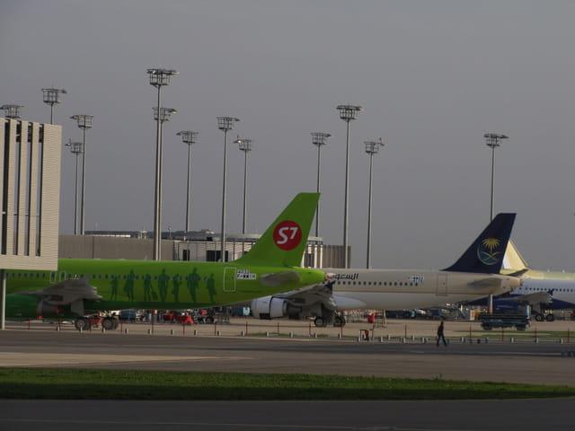 Avions de ligne - Tarmac de Toulouse.