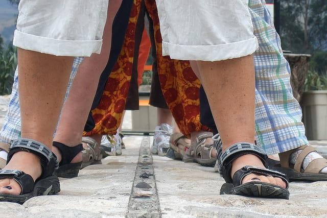 Avoir en même temps chaque pied sur chaque hémisphère : c'est possible!