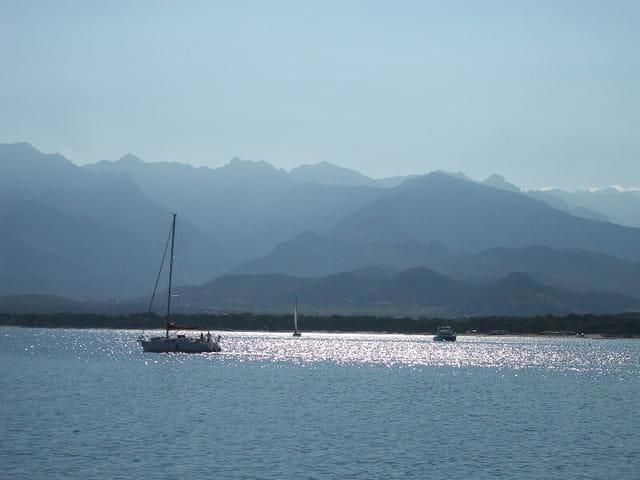 Baie de Calvi en Corse