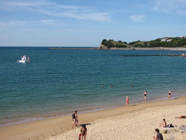 Baie de Saint Jean de Luz.
