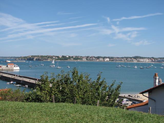 Baie de St Jean de Luz.
