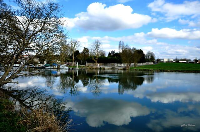bain de nuages dans la Charente