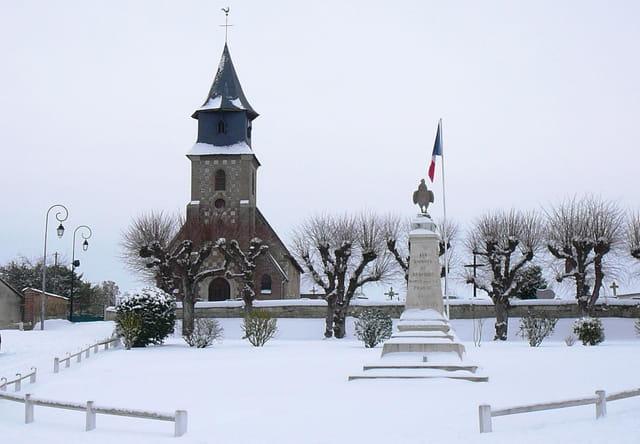 Balade d'un dimanche enneigé 5/2/2012-18