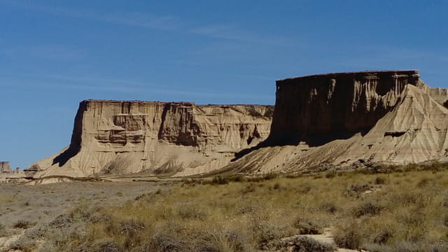 Balade dans le désert des Bardénas