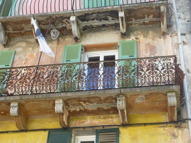 Balcon à Corte