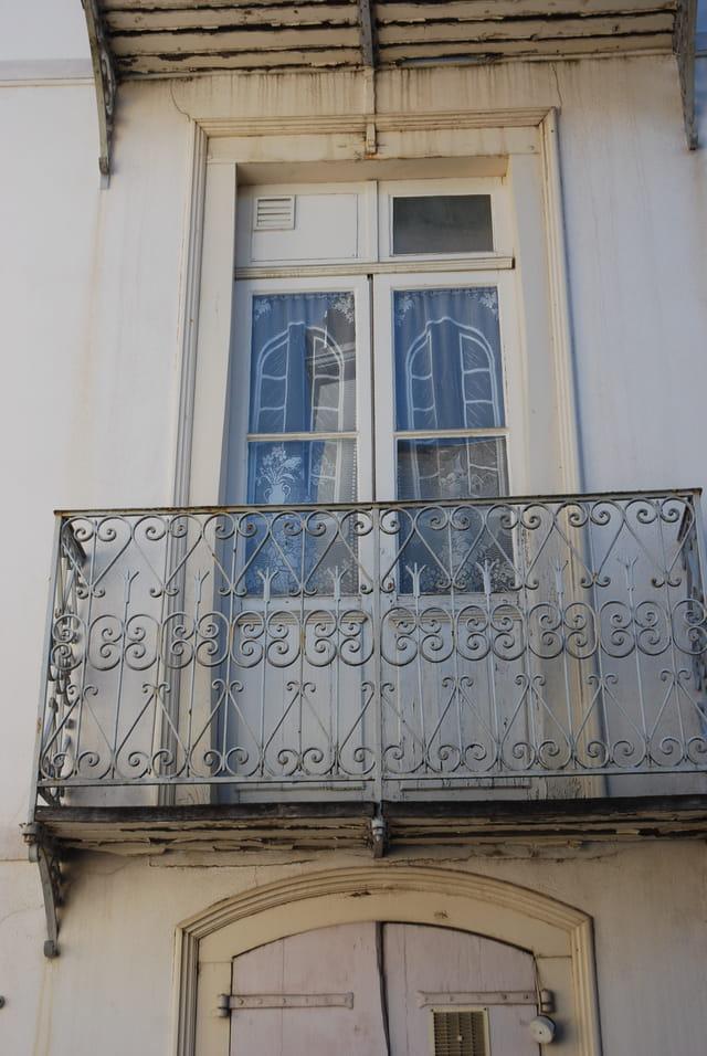 balcons anciens