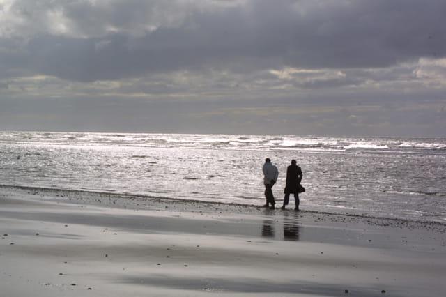 Ballade en bord de plage