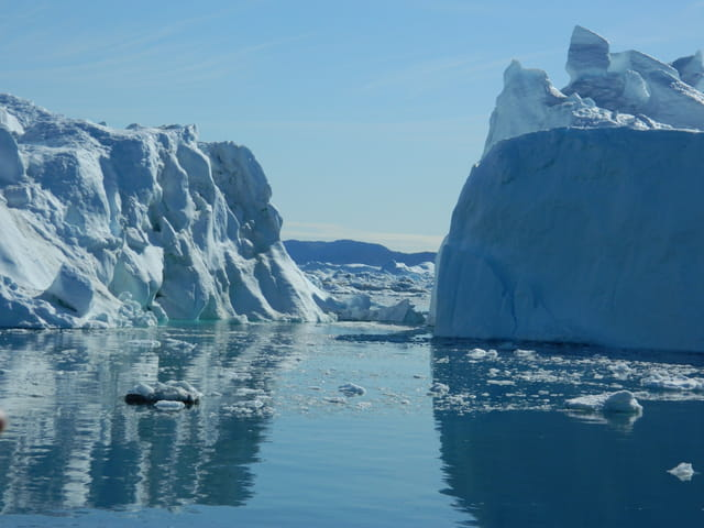 Ballade entre les icebergs