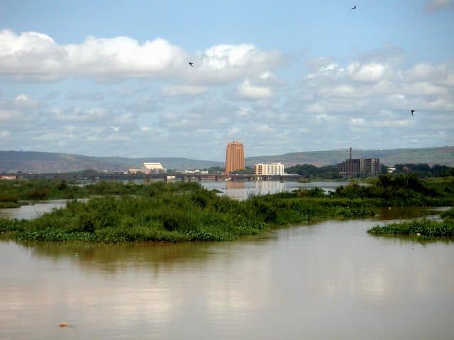 Bamako vue du niger