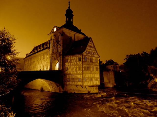 Bamberg , la riviere