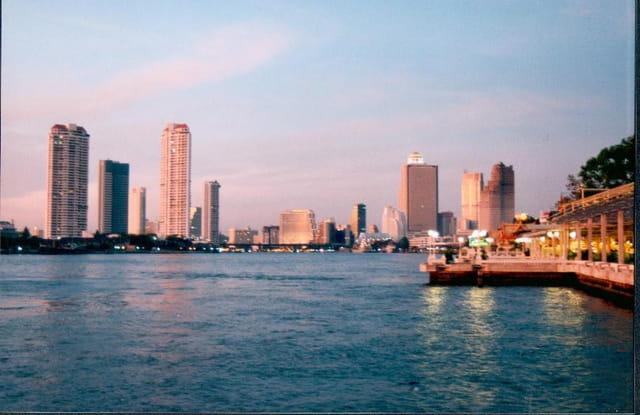 Bangkok, coucher de soleil