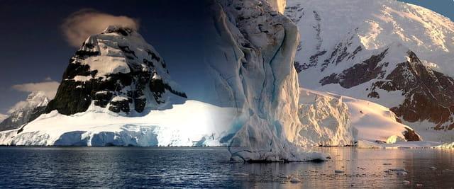 Banquise en Antarctique