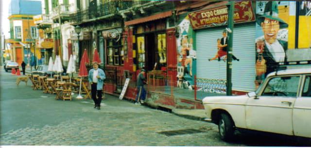 Bar à tango argentin