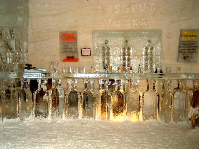 Bar à vodka