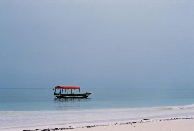 Barque à Zanzibar