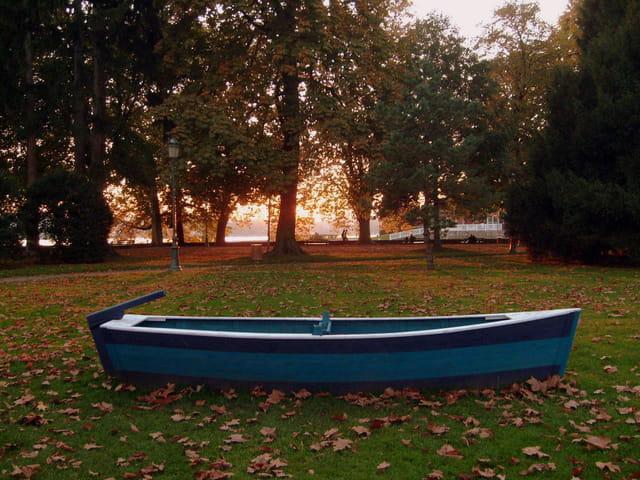 Barque égarée