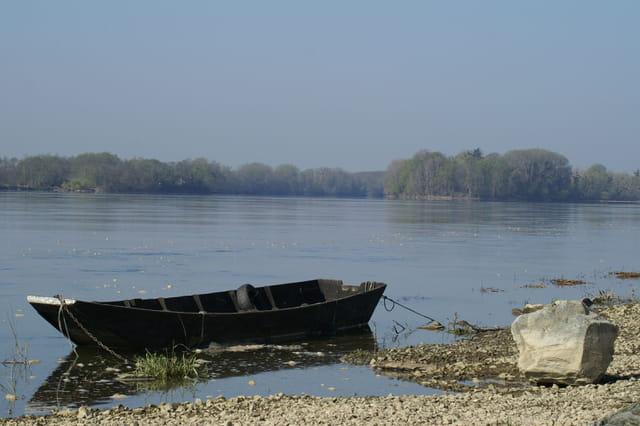Barque en Loire.