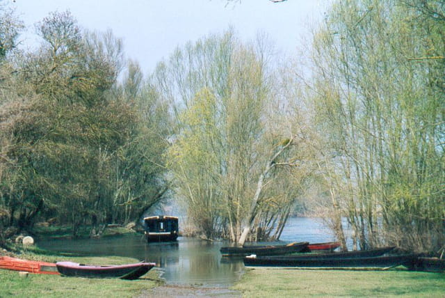 Barques en bords de loire