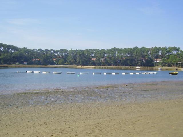 Barques sur le lac