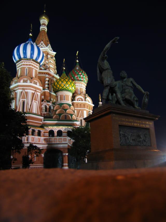 Basilique Basile le Bienheureux - Moscou