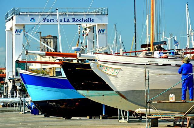 Bassin des chalutiers, La Rochelle