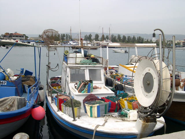 Bateau de pèche chypriote