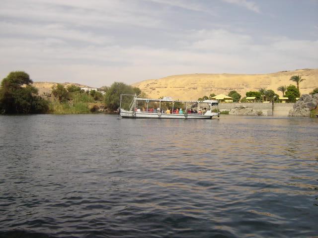 Bateau sur le Nil