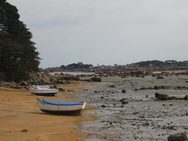 Bateaux Baie de Sainte Anne