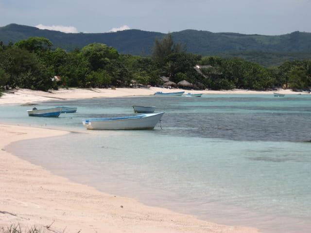 Bateaux de pêcheurs à Punta Rucia