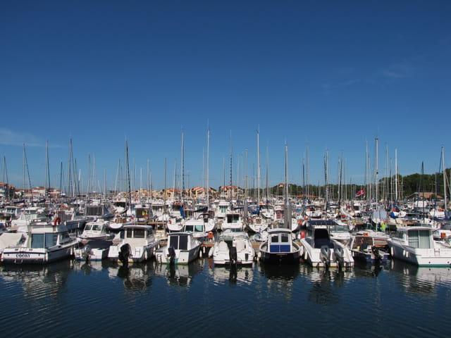Bateaux - Port de Capbreton