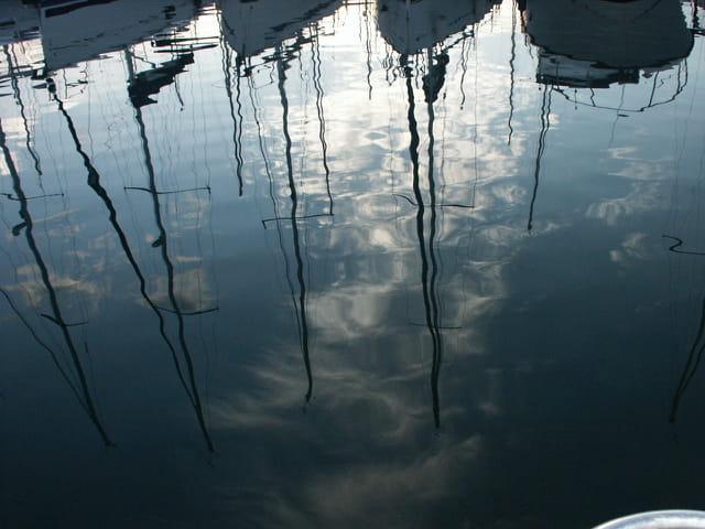 Bateaux reflets....
