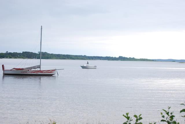 bateaux sur le lac