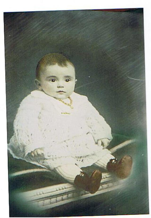 bébé en 1921