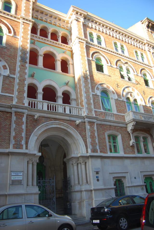 bel immeuble ancien de Rijeka