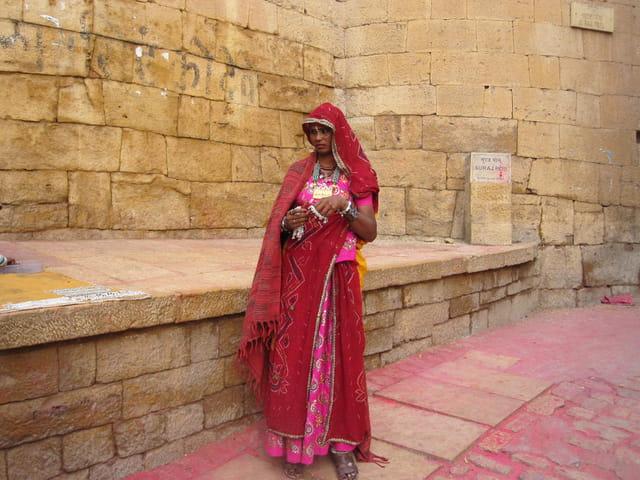 Belle indienne du Rajasthan
