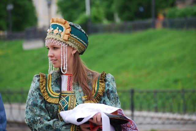 belle jeune femme Russe