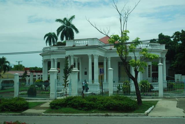 belle maison de Santiago de Cuba