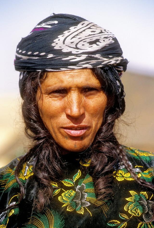 Belle nomade d' Iran